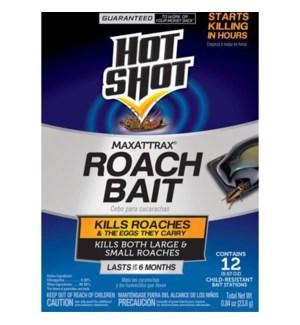 HOT SHOT #02030 MAXATTRAX ROACH BAIT