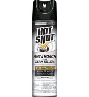 HOT SHOT #66300 UNSCENTED, ANT & ROACH KILLER