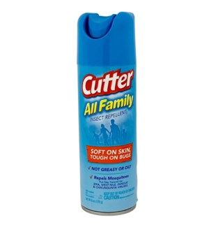 CUTTER #54055 ALL FAMILY INSECT REPELLEN
