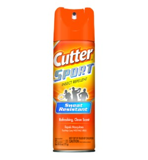CUTTER #96253 SPORT INSECT REPELLENT