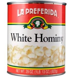 LP #2089 WHITE HOMINY