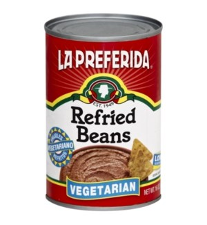 LP #0027 VEGETARIAN REFRIED BEANS
