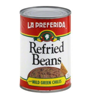 LP #10030 GREEN CHILE REFRIED