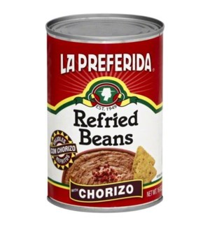 LP #0289 CHORIZO.REFRIED BEANS.