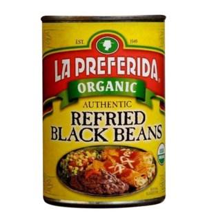 LP #10045 REFRIED BLACK BEANS AUTHENTIC