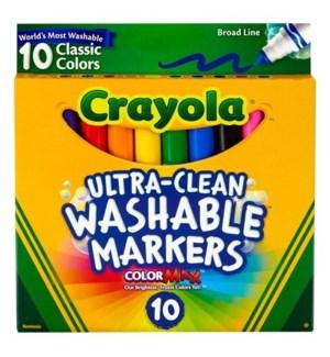 CRAYOLA WASHABLE COLOR MARKERS