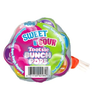 TOOTSIE BUNCH POPS #02584 SWEET & SOUR