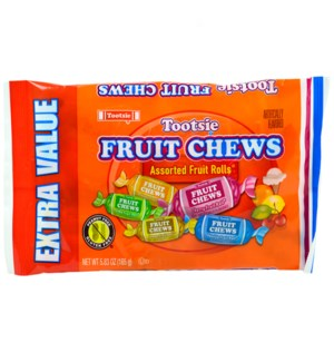 TOOTSIE 6357 FRUIT CHEWS