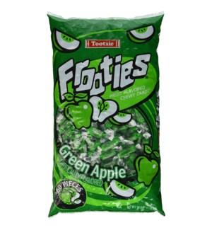FROOTIE #07842 GREEN APPLE BIG BAG