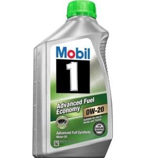 MOBIL ONE MOTOR OIL-0W20