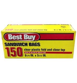 BEST BUY #24016 SANDWICH BAGS
