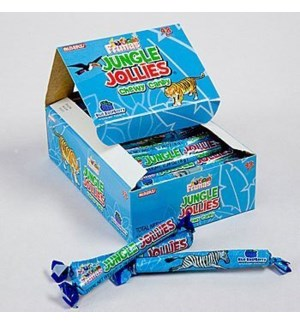 JUNGLE JOLLIES #05558 BLUE RASPBERRY CHEWY