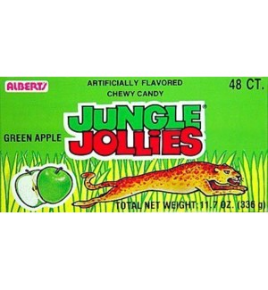 JUNGLE JOLLIES #05559 GREEN APPLE CHEWY