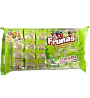 FRUNAS #05621 GREEN APPLE FRUIT CHEWS
