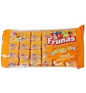 FRUNAS #05626 PEACH FRUIT CHEWS