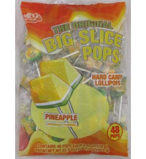 BIG SLICE POPS #07850 PINEAPPLE