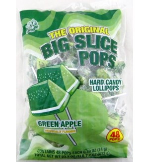 BIG SLICE POPS #07852 GREEN APPLE