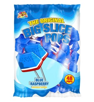BIG SLICE POPS #07855 BLUE RASPBERRY