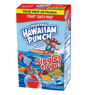 HAWAIIAN PUNCH #31921 FRUIT JUICY RED