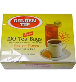 TEA BAGS - 100CT GOLDEN TIP