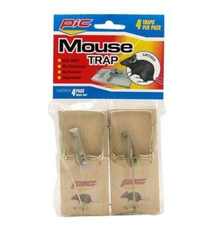PIC #98113 WOODEN MOUSE TRAP