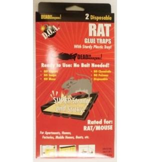 RAT GLUE TRAPS #98410 DOA*GRT2