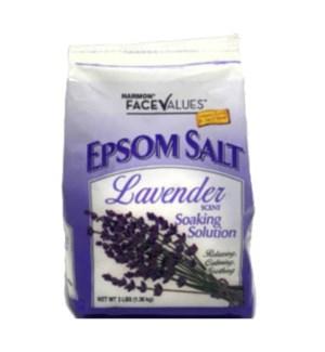 FACE VALUES EPSOM SALT #10882 LAVENDER