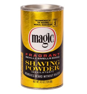 SSC #MAGIC SHAVE POWDER-GOLD