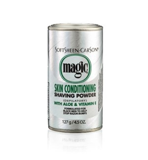 SSC #MAGIC SHAVE POWDER-PLATINUM