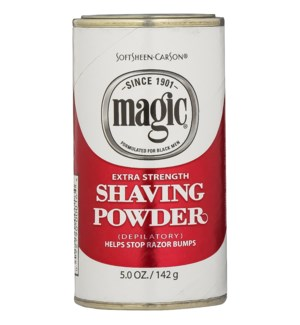 SSC #MAGIC SHAVE POWDER-RED