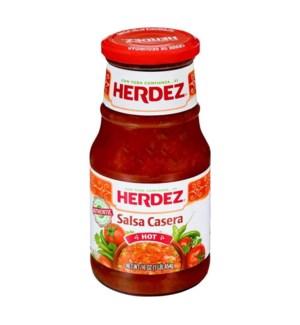 HERDEZ #7559 CASERA HOT SALSA