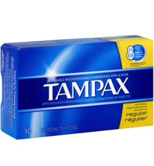 TAMPAX #21409 REGULAR (NATIONAL BRAND)