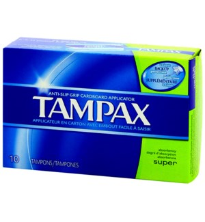 TAMPAX #31409 SUPER (NATIONAL BRAND)