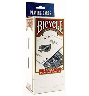 BICYCLE #1633 PLAYING CARDS-ASST