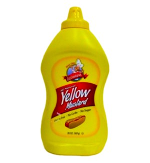 WOEBER'S #0117 YELLOW MUSTARD