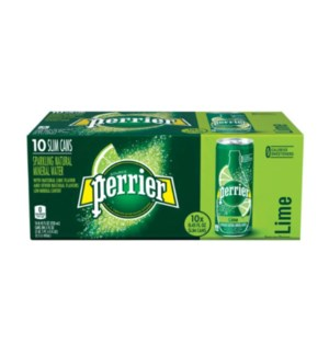 PERRIER WATER #33356 LIME