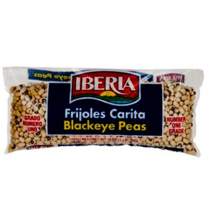 IB #210631 BLACKEYE PEAS POLY BAG