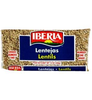 IB #10642 LENTILS BEANS DRY