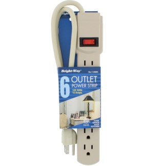 POWER STRIP #00600 6-OUTLET