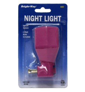 BRIGHT-WAY NIGHT LIGHT #00880