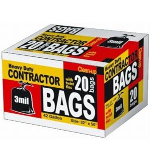TRASH BAGS #22552 CONTRACTOR/BOX