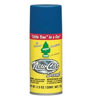 LITTLE TREE SPRAY #09089 NEW CAR SCE