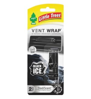 LITTLE TREE-VENT WRAP, BLACK ICE