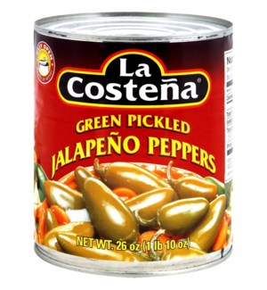 LA COSTENA #0128 WHOLE JALAPENO