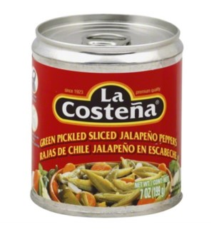 LA COSTENA #0207 SLICED JALAPENO