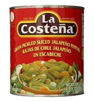 LA COSTENA #0210 SLICED JALAPENO