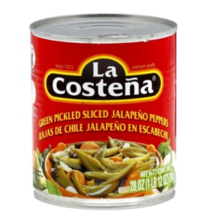 LA COSTENA #0228 SLICED JALAPENO