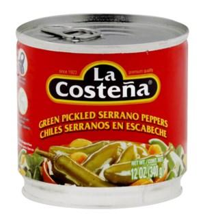 LA COSTENA #0312 SERRANO PEPPERS