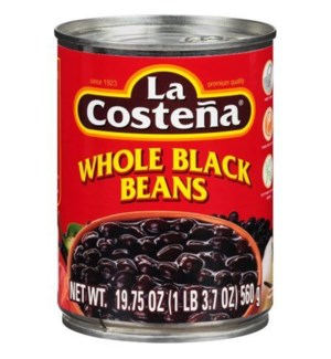 LA COSTENA #3200 WHOLE BLACK BEANS