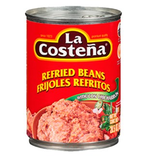 LA COSTENA #3265 REFRIED BEANS/CHICHARON